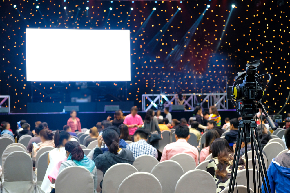 spanplafond motion groot evenement
