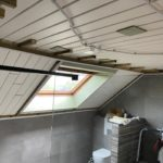 badkamer renovatie plafond voor