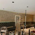 restaurant renovatie spanplafond