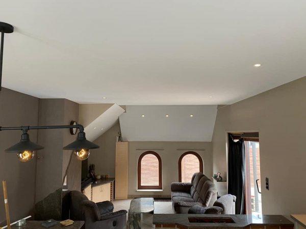 spanplafond plafond renovatie spanplafond prijs verlichting led plafond