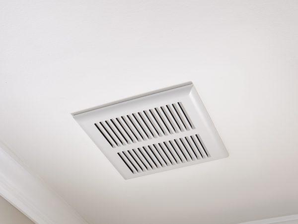 Spanplafond ventilatie fan integratie