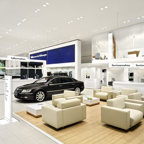 autoshowroom essentials design spanplafond
