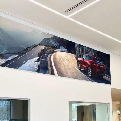 autoshowroom vivid design spanplafond