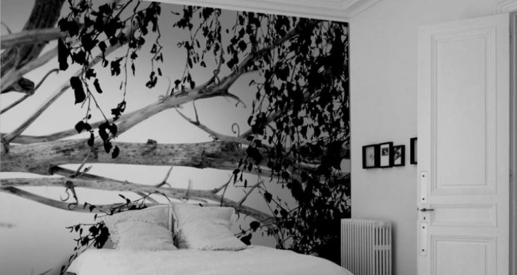 spanplafond en spanwand tension vivid slaapkamer in een jonge woning renovatie