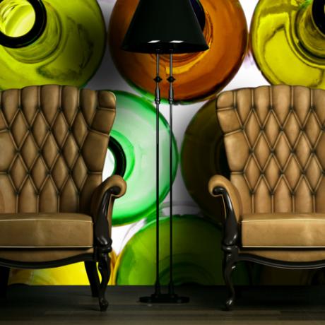 spanplafond en spanwanden creatief design
