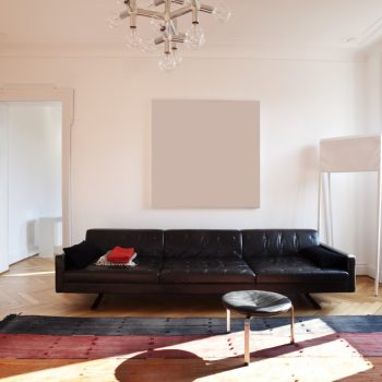 spanwand motion in een moderne woonkamer