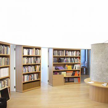 verlichting plafond spanplafond boekenhandel